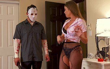Halloween fuck with friend's slutty hot mom