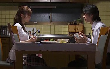 Shy Asian wife is fighting her sexual temptation